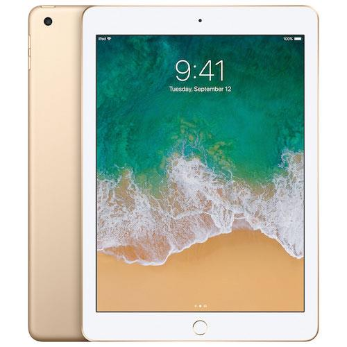 iPad 9.7-inch Wi-Fi Cell 128GB Gold ( 6th Generation ) | Tradeline Egypt Apple