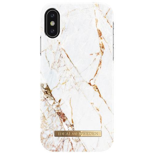 iDeal of Sweden Carrara Gold For iPhone X | Tradeline Egypt Apple