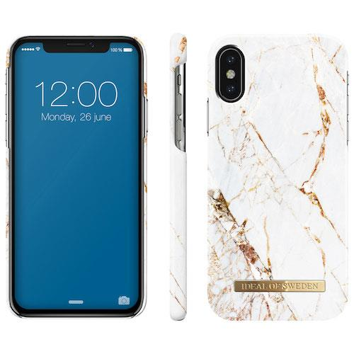 iDeal of Sweden Carrara Gold For iPhone X