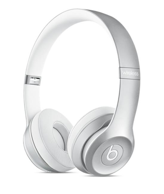 Beats Solo2 Wireless Headphones - Silver