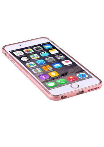 Devia Fresh For 6/6S Rose Gold | ·Curve edge aluminum bumper, anti-scratch and shock resistance; Tradeline Apple