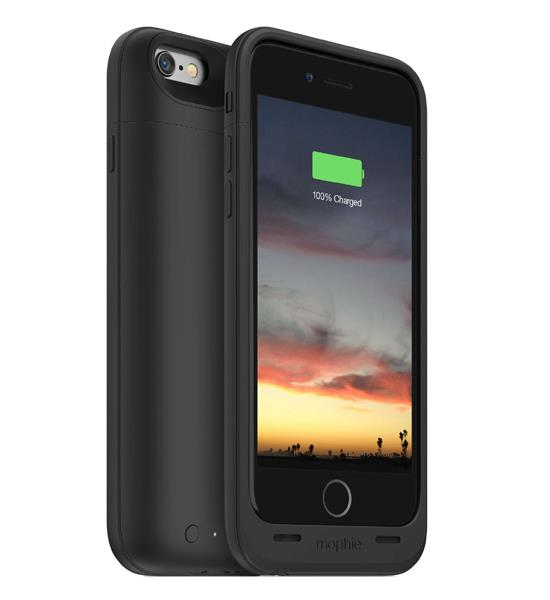 Mophie Juice Pack Air 100 Percent for iPhone 6 Black | Tradeline Egypt Apple