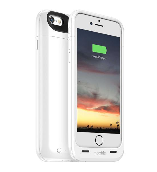 Mophie Juice Pack Air 100 Percent for iPhone 6 White | Tradeline Egypt Apple