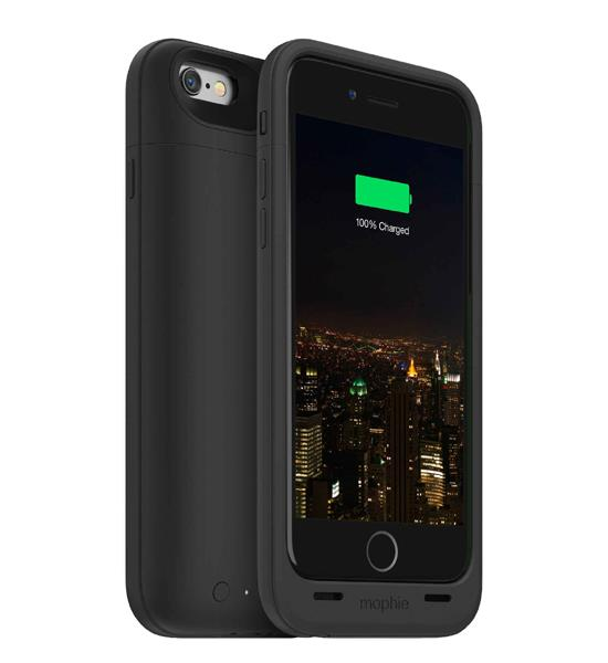 Mophie Juice Pack Plus 120 Percent for iPhone 6 Black | Tradeline Egypt Apple