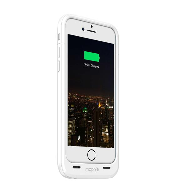 Mophie Juice Pack Plus 120 Percent for iPhone 6 White