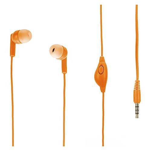 Griffin TuneBuds Mic+Music - Orange | Tradeline Egypt Apple
