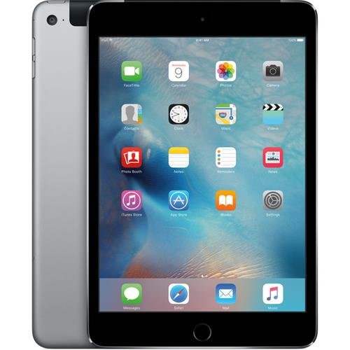 iPad mini 4 Wi-Fi Cell 16GB Space Gray | SENSORS AND VIDEO RECORDING Tradeline Apple