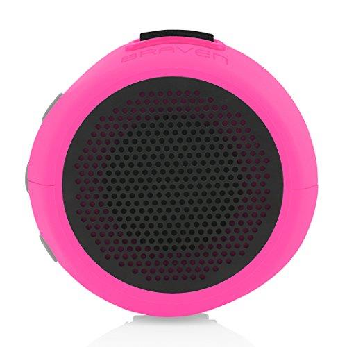 Braven Speaker 105 Raspberry | IP67 Waterproof Rating Tradeline Apple