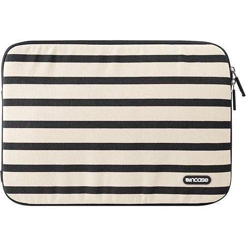 "Incase Stripe Sleeve For MacBook Air 11"" Black"