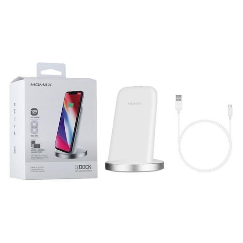 Momax Q.Dock wireless charger White