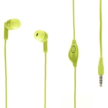 Griffin TuneBuds Mic+Music - Lime | Tradeline Egypt Apple
