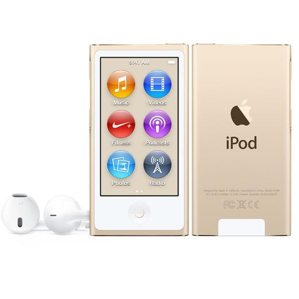 Apple iPod nano 16GB - Gold | Tradeline Egypt Apple