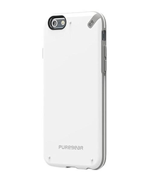 PureGear Slim Shell White/Gray for iPhone 6 | Tradeline Egypt Apple