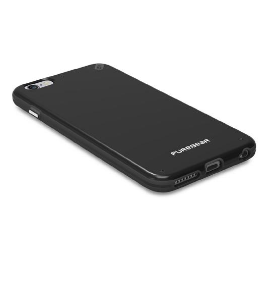 PureGear Slim Shell Black/Black for iPhone 6 Plus | Slim Shell Case for iPhone 6s Plus/6 Plus Tradeline Apple