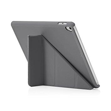 "Pipetto iPad 9.7"" Origami Case - Dark Grey 