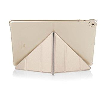 "Pipetto iPad 9.7"" Origami Case - Champagne Gold & Clear"