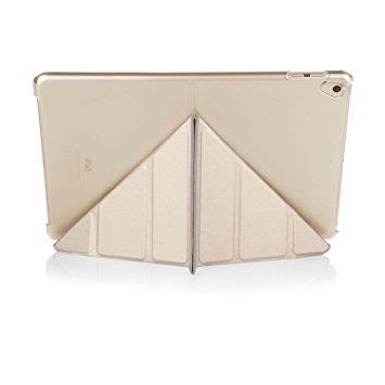 "Pipetto iPad 9.7"" Origami Case - Champagne Gold & Clear"