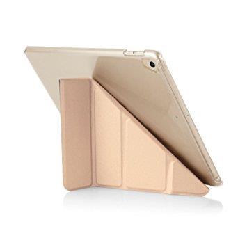 "Pipetto iPad 9.7"" Origami Case - Champagne Gold & Clear | Tradeline Egypt Apple"