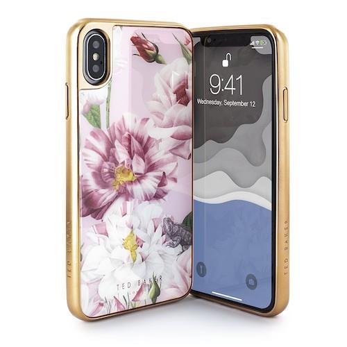 Ted Baker Premium Tempered  Glass Case  For iPhone Xs Max- Iguazu | Tradeline Egypt Apple