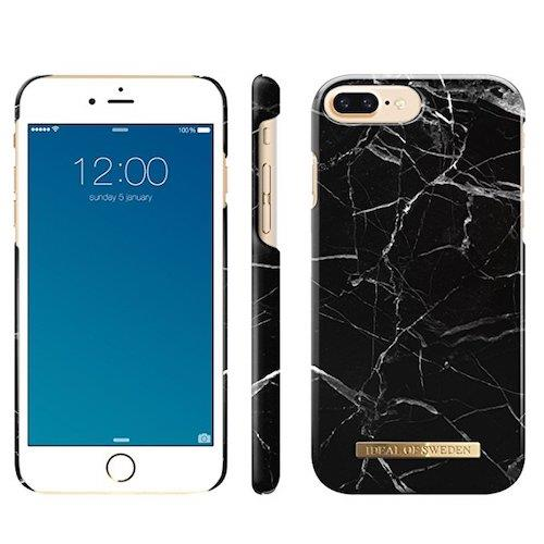 iDeal of Sweden Black Marble For iPhone 7 Plus & 8 Plus