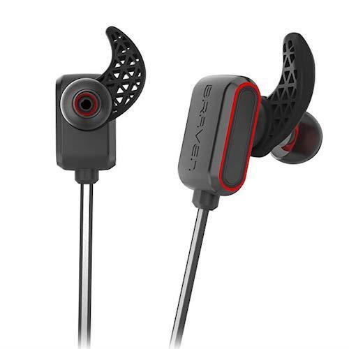 Braven Flye Sport Reflect Earbuds Grey/Red