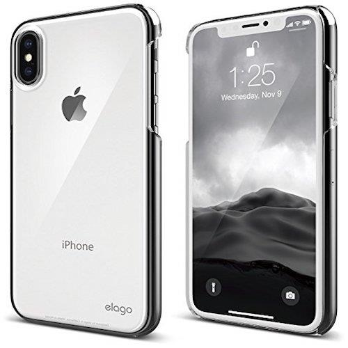 elago Slim Fit 2 For iPhone X Clear | Tradeline Egypt Apple