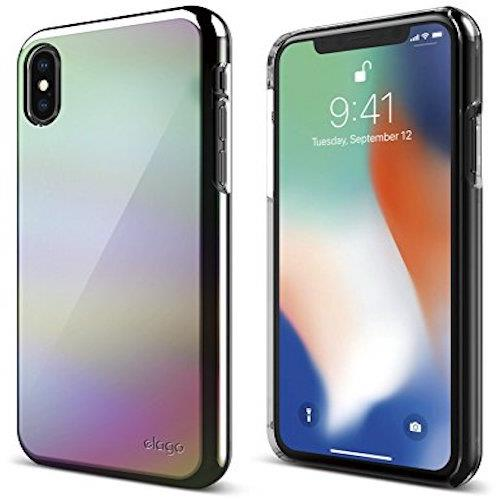 elago Slim Fit 2 For iPhone X Rainbow | Tradeline Egypt Apple