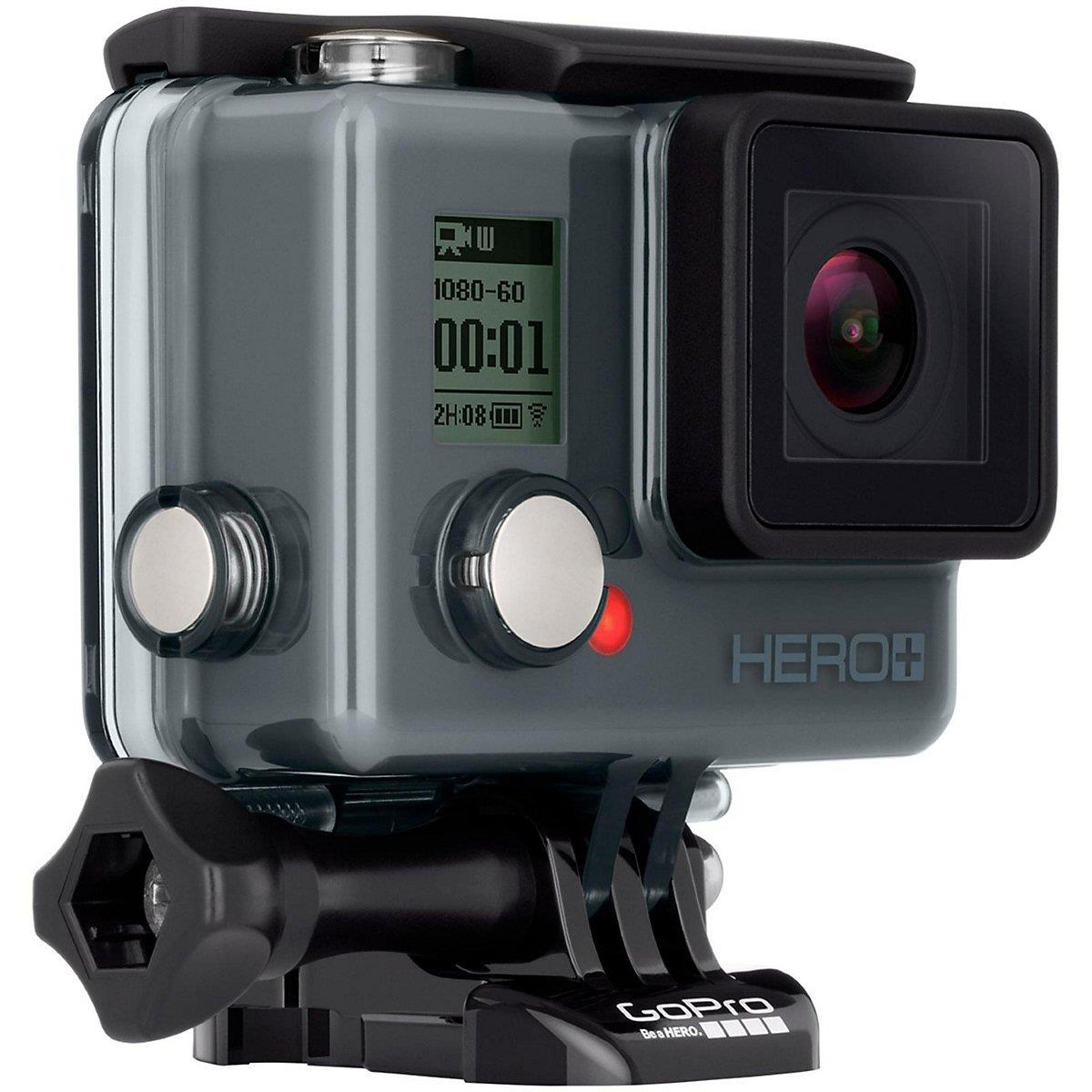 GoPro Hero +LCD | Built-In Wi-Fi + Bluetooth enables connectivity Tradeline Apple