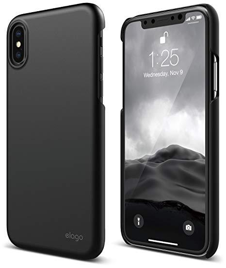 elago Slim Fit 2 For iPhone X Dark Grey | Tradeline Egypt Apple