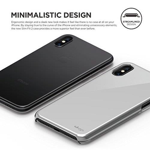 elago Slim Fit 2 For iPhone X Clear
