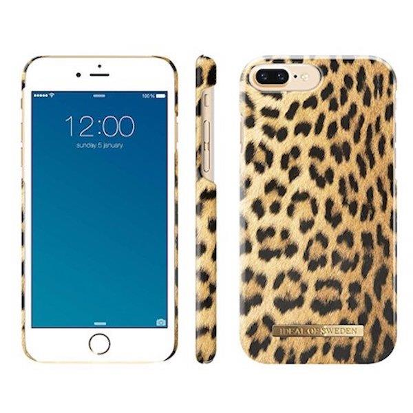iDeal of Sweden Wild Leopard For iPhone 7 Plus & 8 Plus