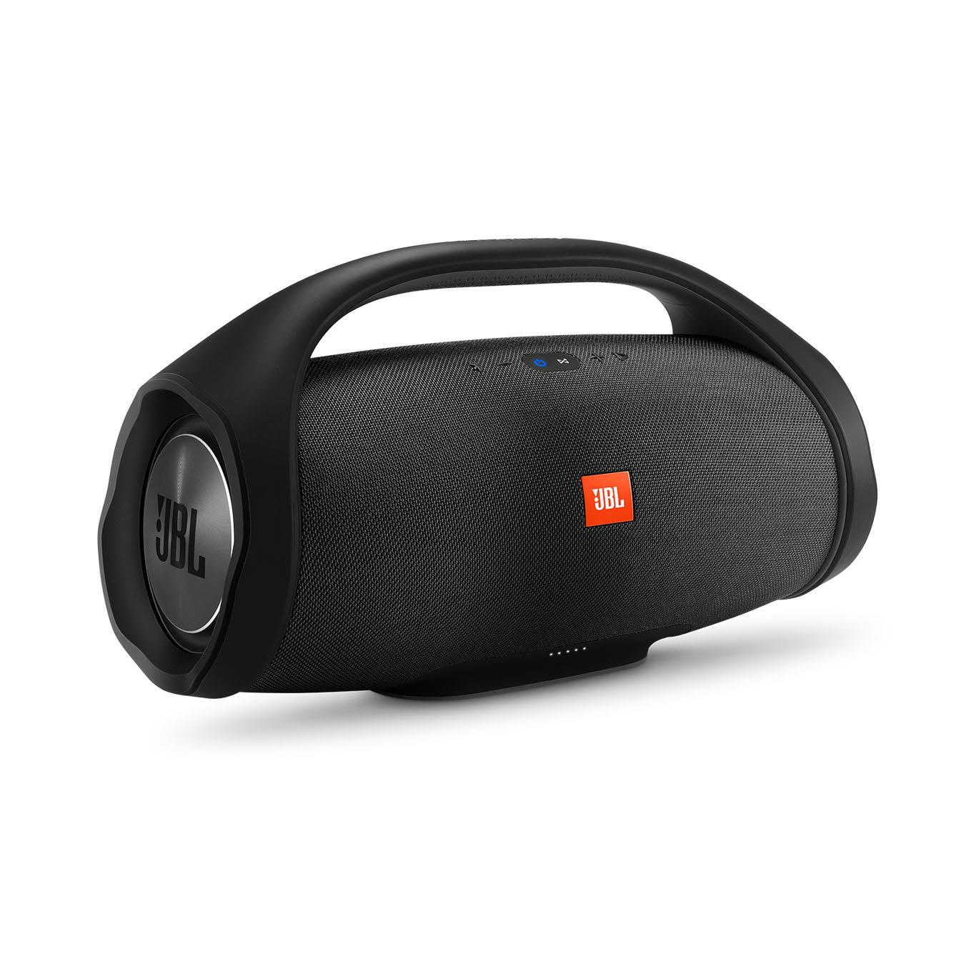 JBL BoomBox Portable Bluetooth Speaker Black | Tradeline Egypt Apple