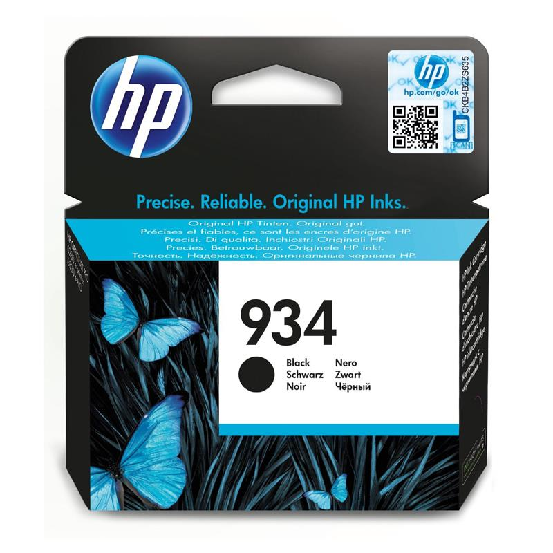 HP 934 Black Ink Cartridge | PROFESSIONAL QUALITY Tradeline Apple