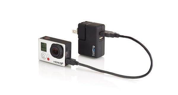 GoPro Wall Charger | Charge up to two cameras at once Tradeline Apple