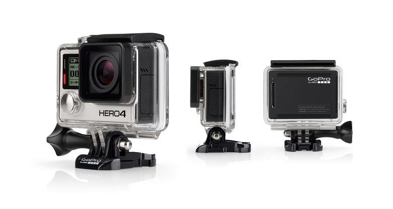 GoPro Hero 4 Black | Fast, Powerful Photo Capture and 4K30. 4x the resolution of 1080 Tradeline Apple