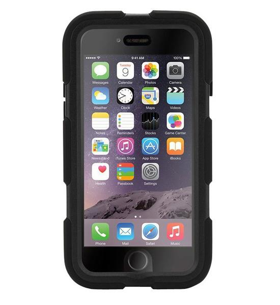 Griffin Survivor iPhone 6 Black | Tradeline Egypt Apple