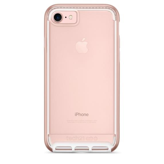 Tech21 Evo Elite for iPhone 7  Polished Rose Gold | Tradeline Egypt Apple