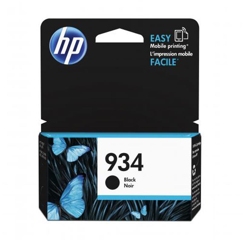 HP 934 Black Ink Cartridge - HP OfficeJet Pro 6830 Wireless Printer accessory Tradeline