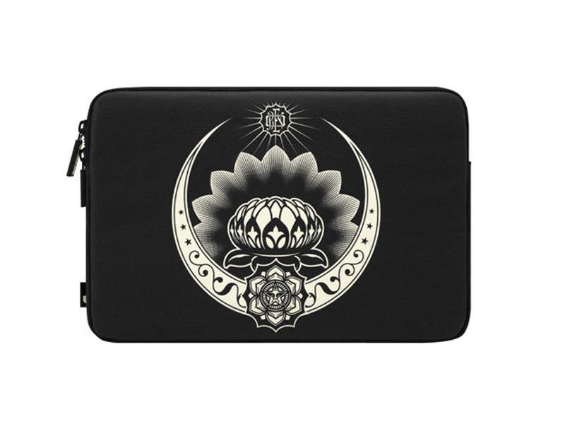 Incase Shepard Fairey Coated Canvas Sleeve Lotus Ornament | Tradeline Egypt Apple