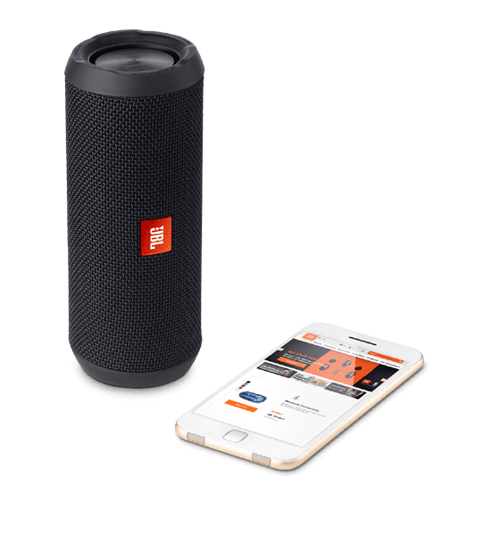 JBL Flip 3 Speaker Black | Bluetooth Connectivity and Aux Connection Tradeline Apple