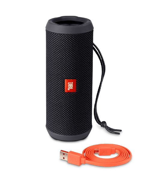 JBL Flip 3 Speaker Black | Built-in Microphone and Rechargeable Battery Tradeline Apple