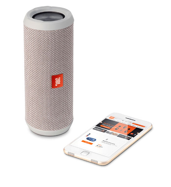 JBL Flip 3 Speaker Grey | Bluetooth Connectivity and Aux Connection Tradeline Apple