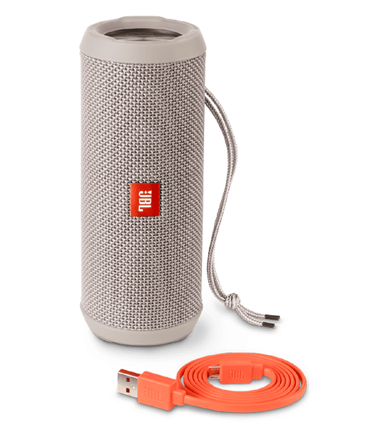 JBL Flip 3 Speaker Grey | Built-in Microphone and Rechargeable Battery Tradeline Apple