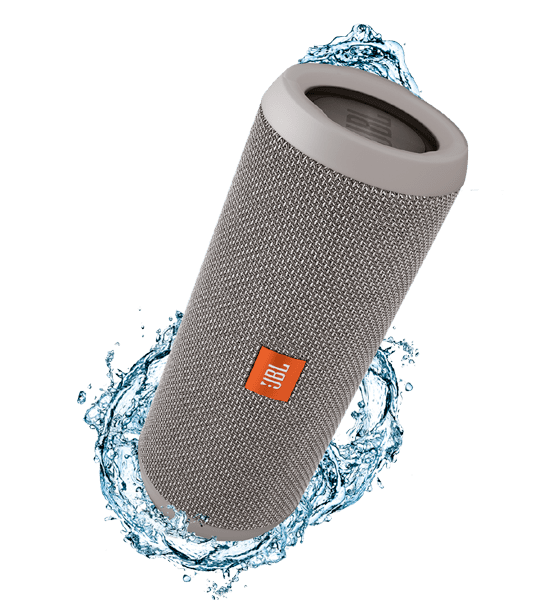 JBL Flip 3 Speaker Grey | A Splashproof Design and Clip-on Convenience Tradeline Apple