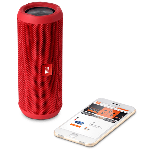 JBL Flip 3 Speaker Red | Bluetooth Connectivity and Aux Connection Tradeline Apple