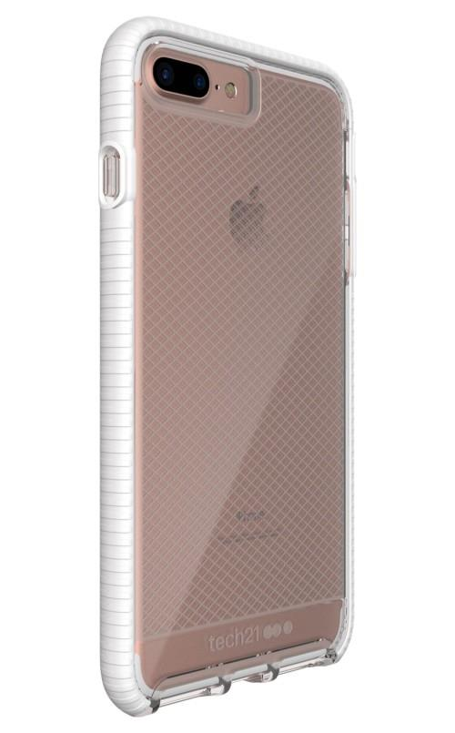 Tech21 Evo Check for iPhone 8 Plus/7 Plus Clear/White