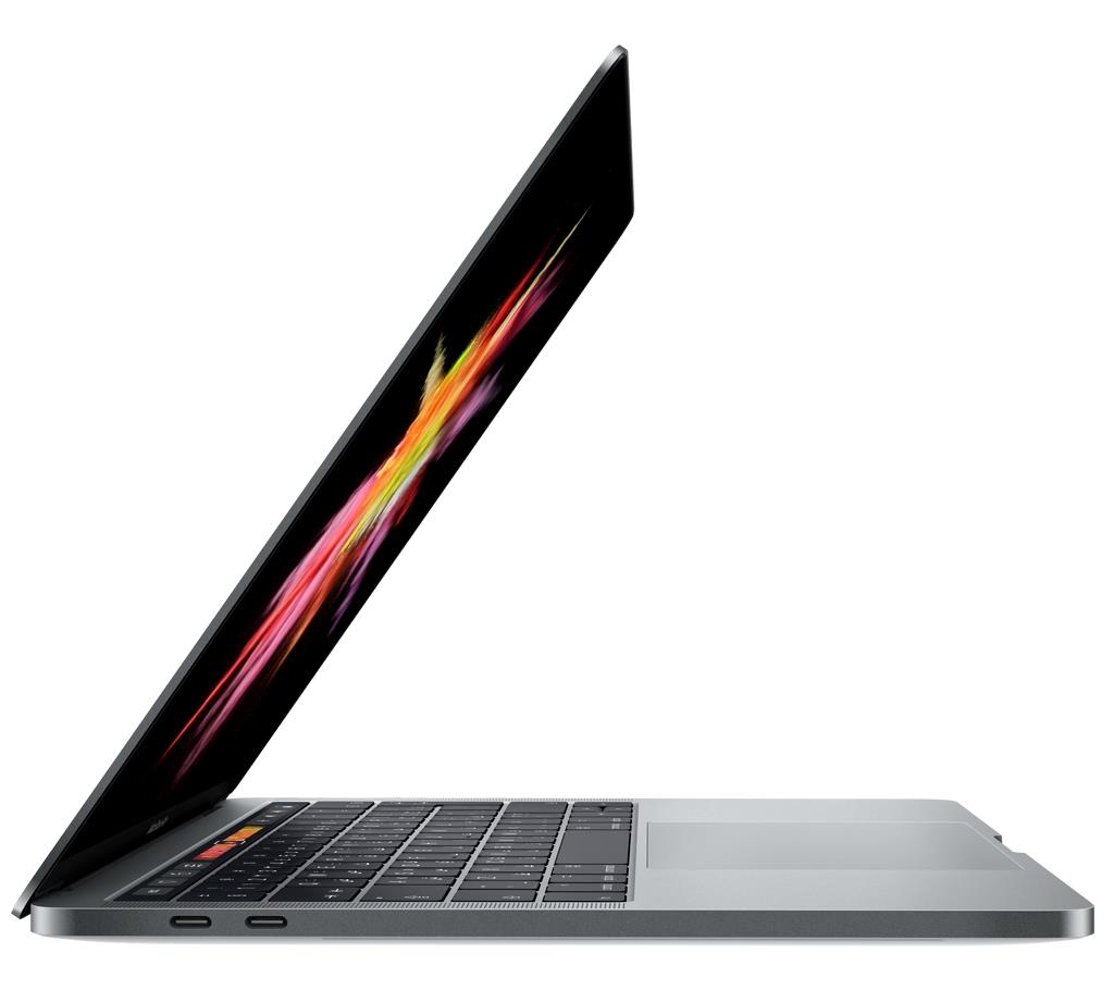 MacBook Pro 13-inch with Touch Bar: 3.1GHz dual-core Intel Core i5, 256GB - Space Grey | Speakers that speak for themselves. Loudly. Tradeline Apple