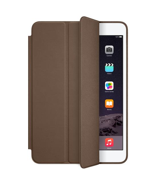 Apple iPad mini Smart Case - Leather - Olive Brown | Tradeline Egypt Apple