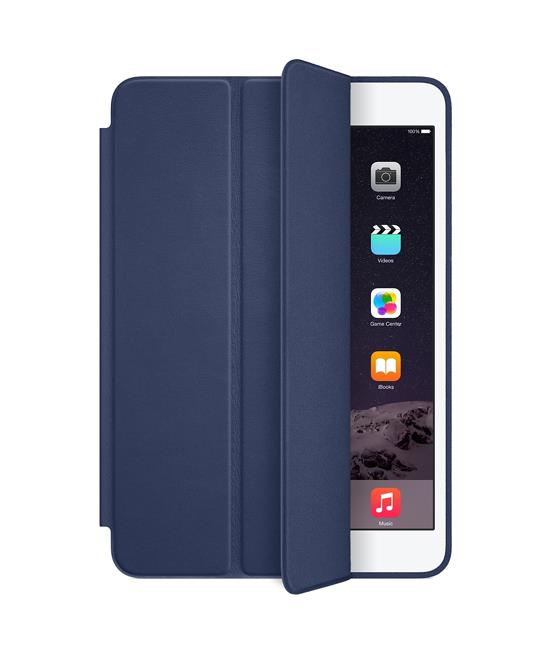 Apple iPad mini Smart Case - Leather - Midnight Blue | Tradeline Egypt Apple