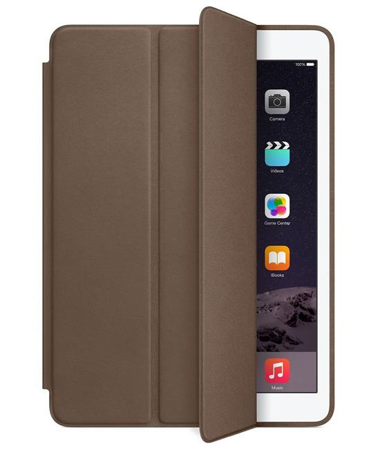 Apple iPad Air 2 Smart Case - Leather - Olive Brown | Tradeline Egypt Apple